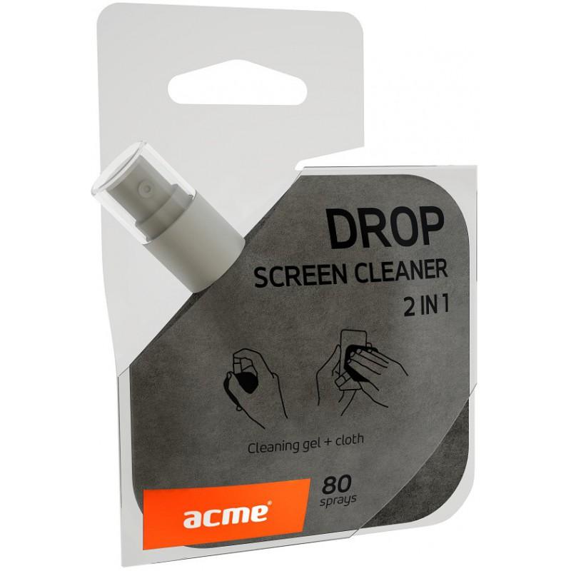 Gel nettoyant écran 2 en 1 ACME DROP CL36