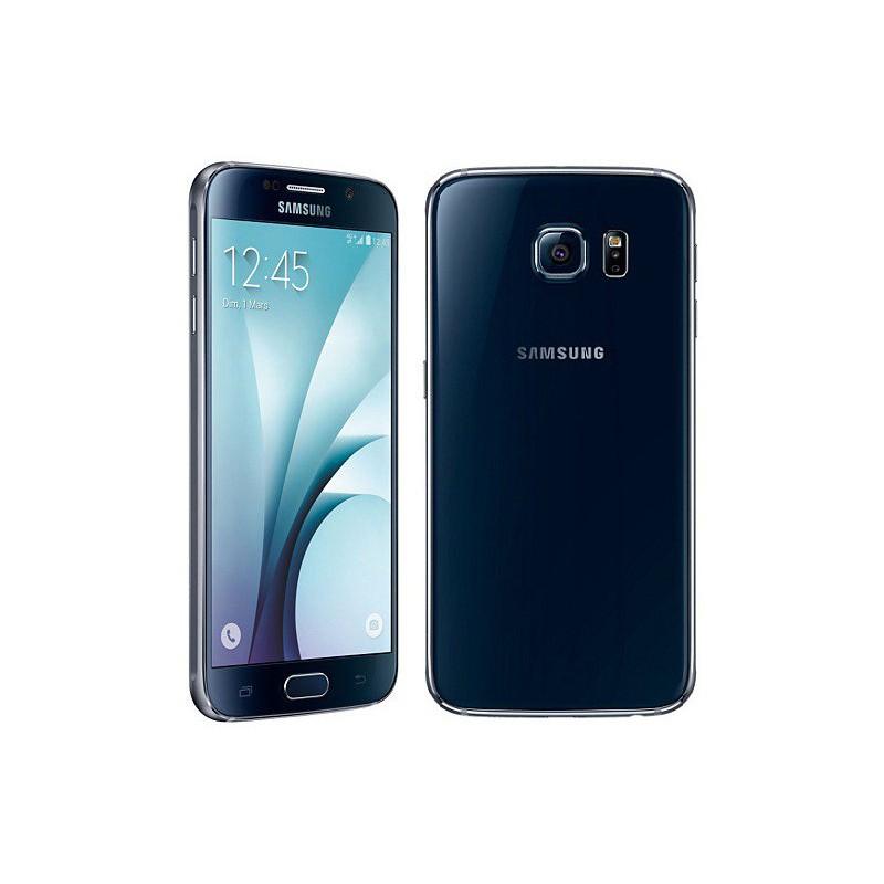 Téléphone Portable Samsung Galaxy S6 / Noir