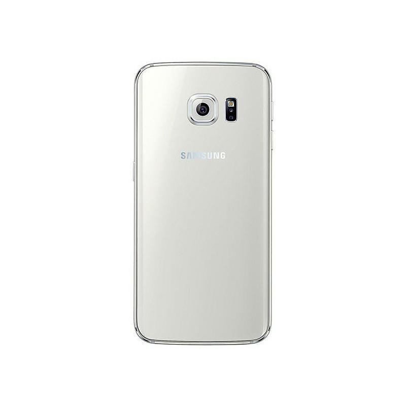Téléphone Portable Samsung Galaxy S6 Edge / Blanc + Gratuité 100 Dt