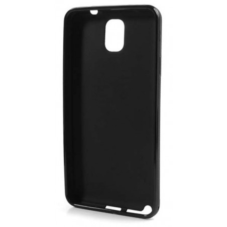 Etui en Silicone pour Samsung Galaxy Note 3 / Noir