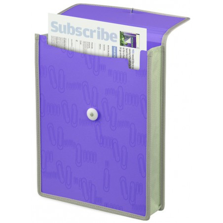 Porte-documents A4 Foldermate / Violet