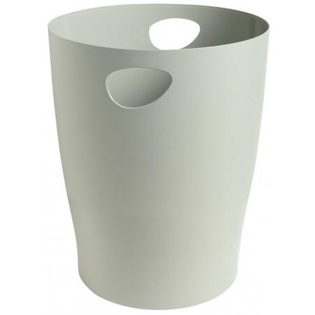Corbeille à papier EXACOMPTA 15L / Gris