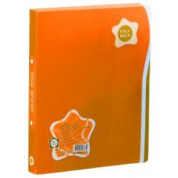 Classeur 4 anneaux A2 Foldermate / Orange