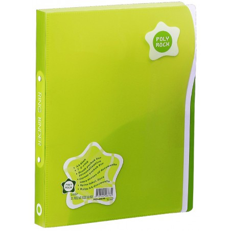 Classeur 2 anneaux A4 Foldermate / Vert