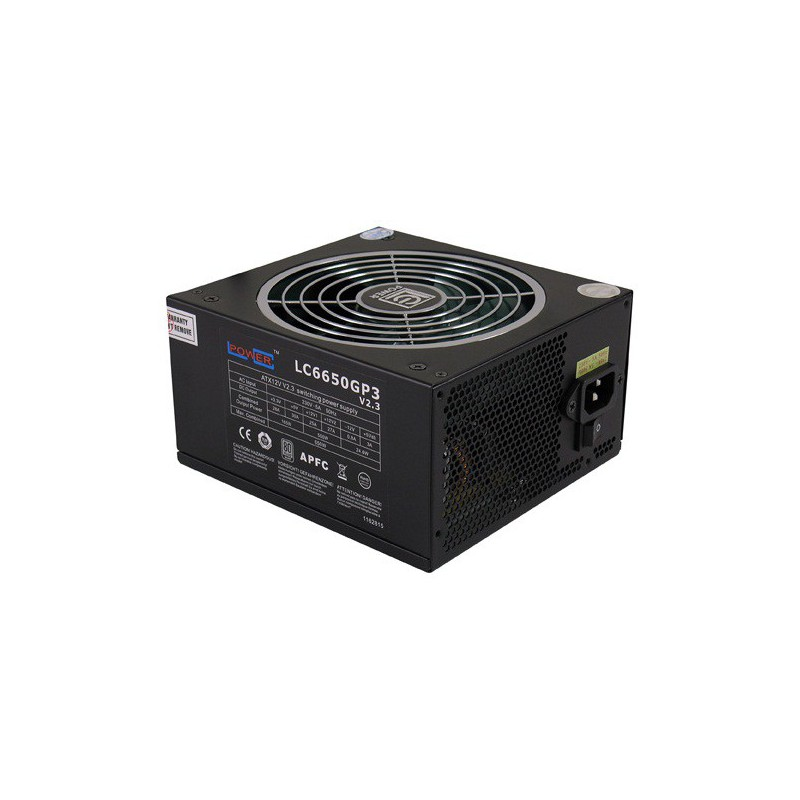 Alimentation LC-POWER LC6650GP3 V2.3 / 650W / 80Plus Silver