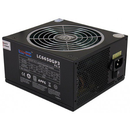 Alimentation LC-POWER LC6650GP3 V2.3 / 650W