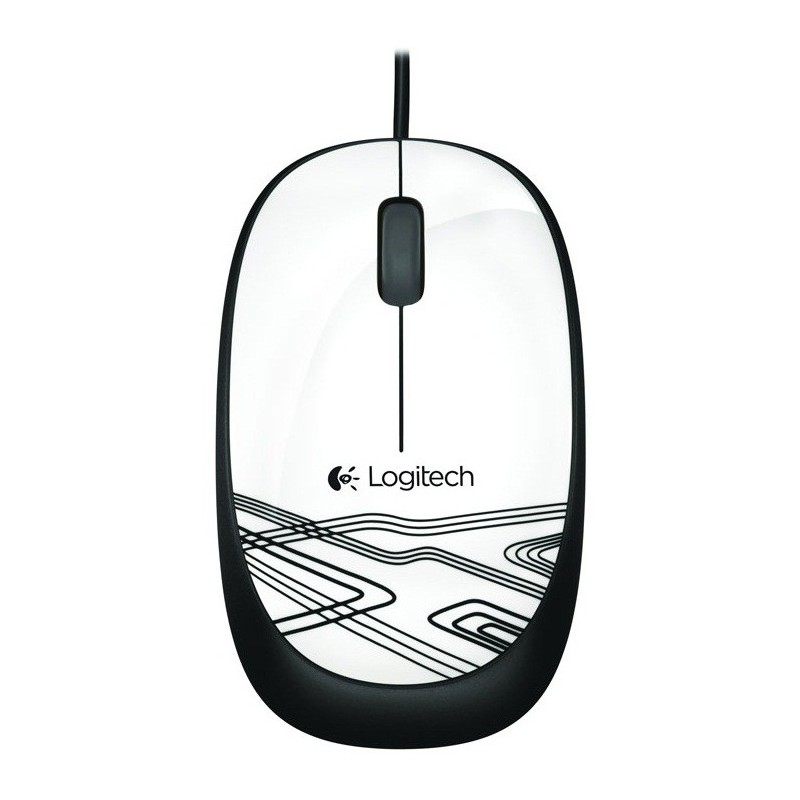 Souris Optique Logitech USB M105 / Blanc
