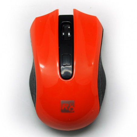 Souris Optique 3D R8 Sans Fil / Orange