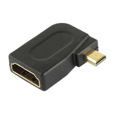 Adaptateur HDMI Female vers Micro HDMI Male 90°