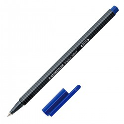 Stylo Roller triangulaire Staedtler 403 / 0.4 mm / Bleu