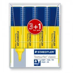 Pochette 4x Surligneurs Staedtler Textsurfer classic 364-1