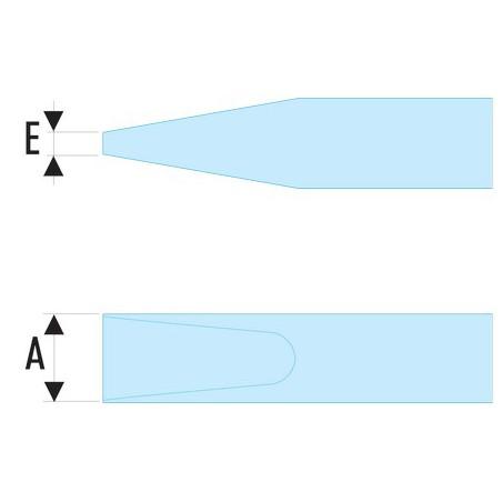 Tournevis Facom Protwist isolé 2.5 x 50 mm / 1000 V