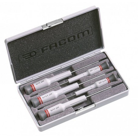 Coffret de 5 Tournevis Micro-Tech Facom AEF.J2