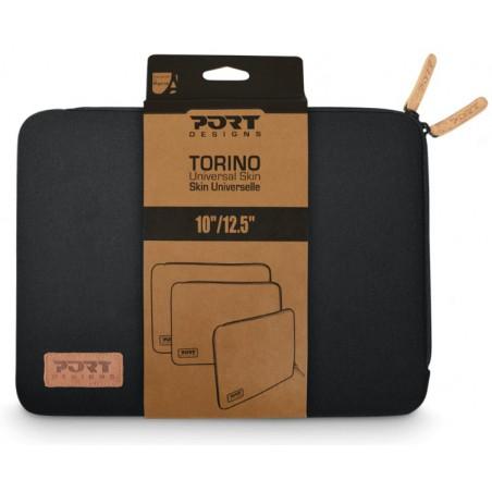 Etui de protection Port Designs TORINO 10/12.5'' / Noir