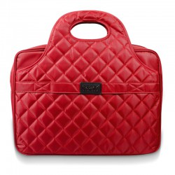 "Malette de portable Port Firenze 15.6"" / Rouge"