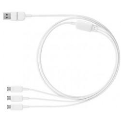 Câble Samsung Multi charge 3en1 USB D'origine
