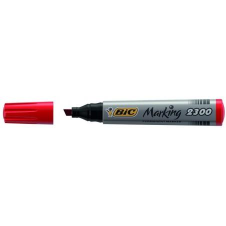 Marqueur permanent BIC 2300 / Rouge