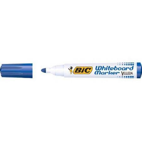 Marqueur effaçable BIC 1701 pointe ogive / Bleu