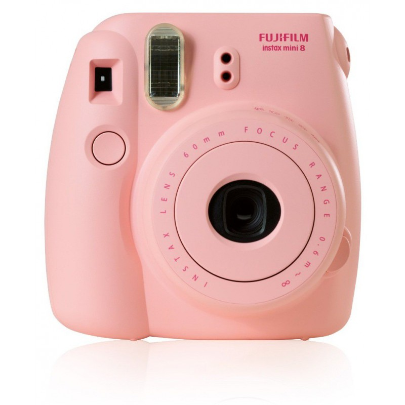 appareil photo impression instantan e fujifilm instax mini 8 rose 10 films etui. Black Bedroom Furniture Sets. Home Design Ideas