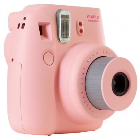 Appareil photo à impression instantanée Fujifilm Instax Mini 8 / Rose