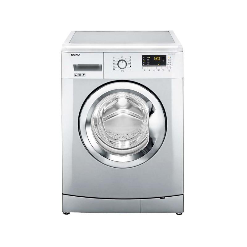 Machine à laver Automatique BEKO 7 Kg / Silver