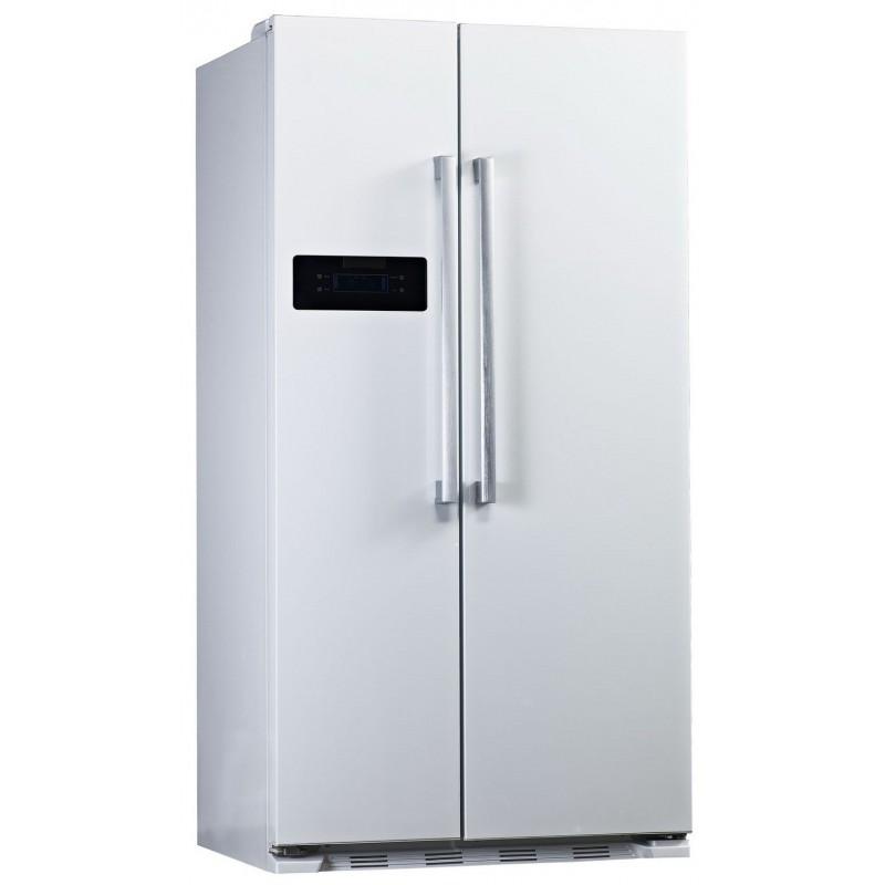 Réfrigérateur avec Congélateur Side by Side Blanc No Frost Midea