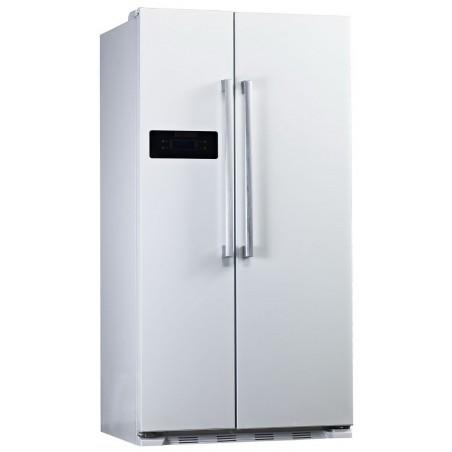 Réfrigérateur avec Congélateur Side by Side Silver No Frost Midea 550L