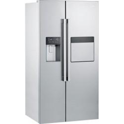 Réfrigérateur américain BEKO 621L / Silver