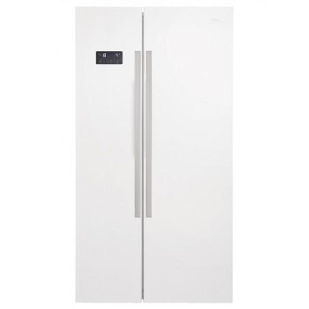 Réfrigérateur américain BEKO 635L / Blanc