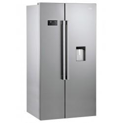 Réfrigérateur américain BEKO 630L / Silver