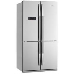 Réfrigérateur américain BEKO 610L / Silver