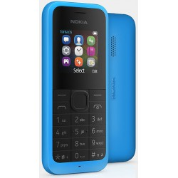 Téléphone Portable Nokia 105 / Double SIM / Bleu