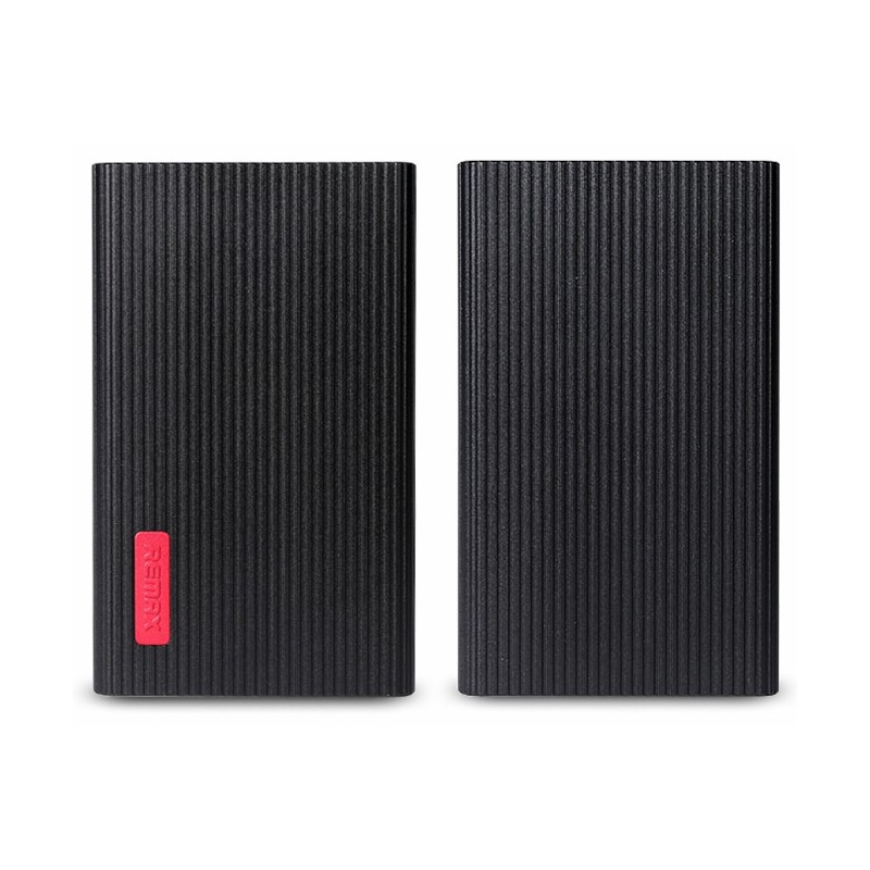Power Bank Remax Jazz Platinum Li-Polymer 6000 mAh / Noir