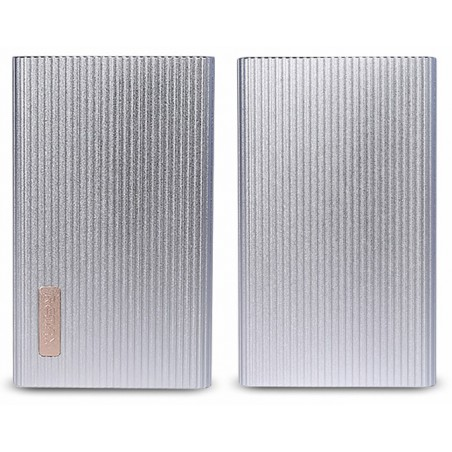 Power Bank Remax Jazz Platinum Li-Polymer 6000 mAh / Silver
