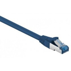 Câble RJ45 Cat6a SFTP 10 Gigabit / 1M / Bleu