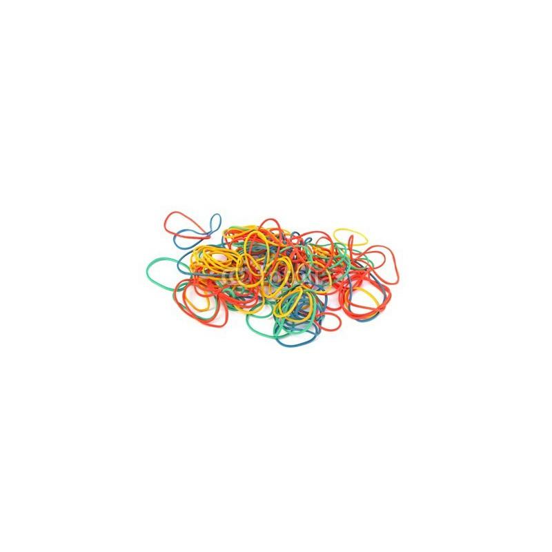 Bracelets Caoutchouc élastiques 1 Kg / Assortis