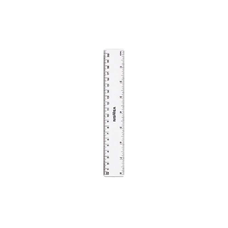 Règle plate 20 cm R.0320-2