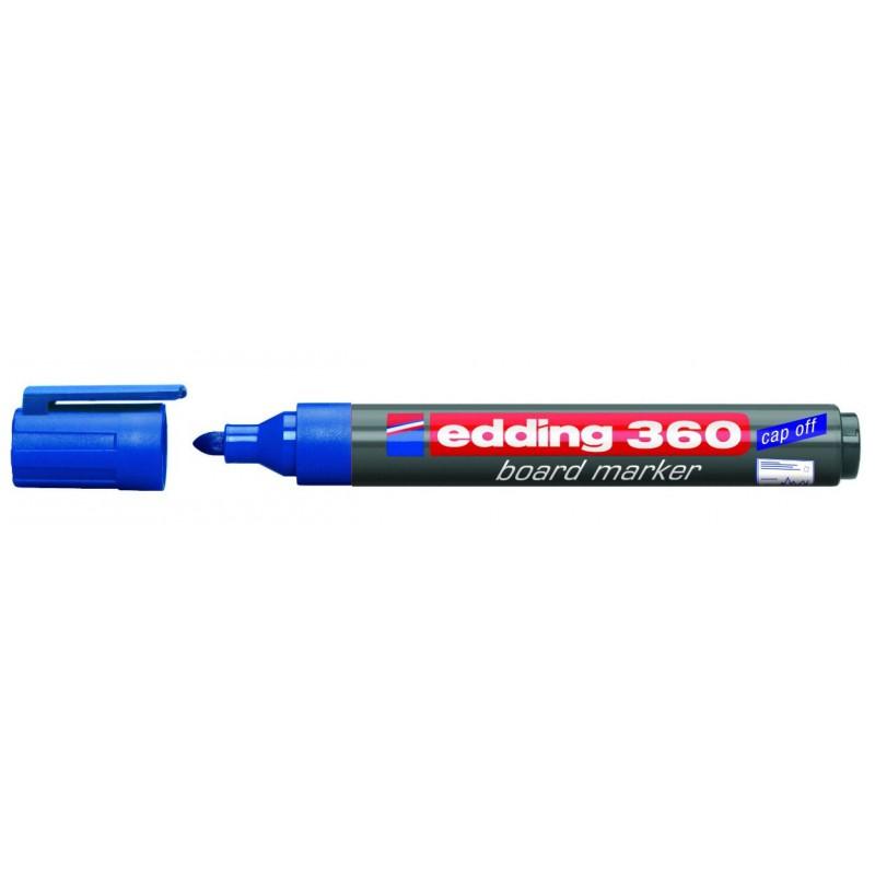 Marqueur pour tableau blanc Edding 360 / Bleu
