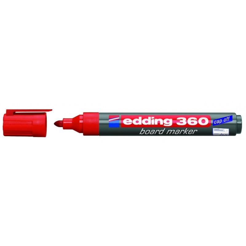 Marqueur pour tableau blanc Edding 360 / Rouge
