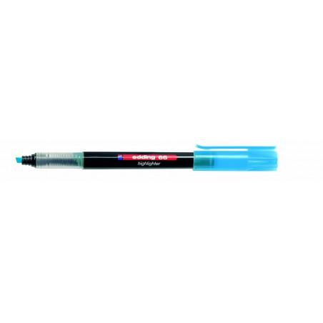 Surligneur Fluo Edding e-66 / Bleu