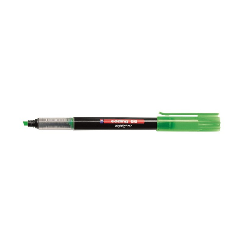 Surligneur Fluo Edding e-66 / Vert