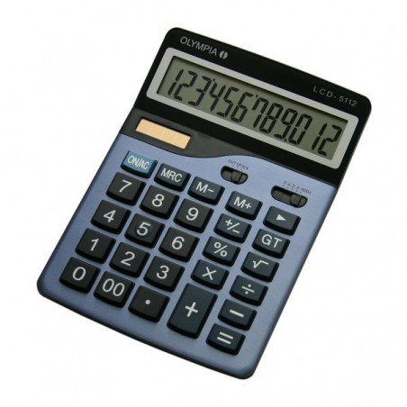 Calculatrice Olympia LCD 5112 / 12 Chiffres