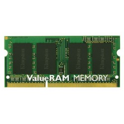 Barette Mémoire Kingston ValueRAM Sodimm 4 Go / DDR3L 1600MHz