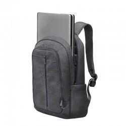"""Sac à dos pour PC Portable 15.6"""" Rivacase 7560 / Gris"""