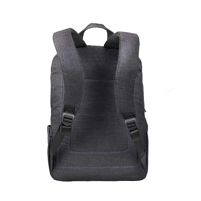sac dos pour pc portable 15 6 rivacase 7560 gris. Black Bedroom Furniture Sets. Home Design Ideas