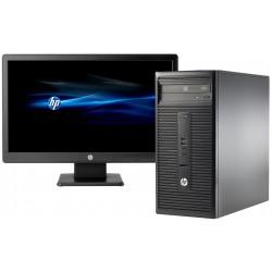 Pc de bureau HP 280 G1 / i3 4é Gén / 2 Go + Licence BitDefender 1 an