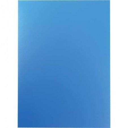 100x Papiers transparant pour reliures A4 / Bleu