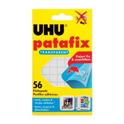 Patte de fixation UHU Patafix invisible 56P