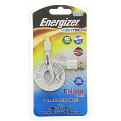Câble Data / Charge Plat Micro USB Energizer