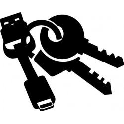 Câble de Poche USB Plat Lightning Charge / Data